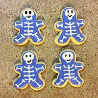 Skeleton Sugar Cookies