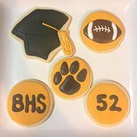 Bentonville High School Sugar Cookies